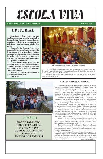 escola viva - Agrupamento de Escolas de Barroselas