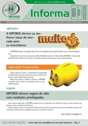 Aplicação Programada A MPCRED oferece as me ... - Sicoob JUS-MP