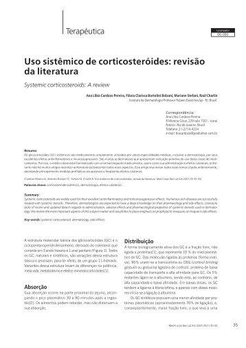 Uso sistêmico de corticosteróides: revisão da literatura - Medicina ...