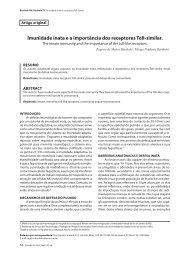 Imunidade inata e a importância dos receptores Toll-similar. - Sopterj