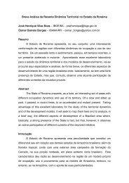 Breve Análise da Recente Dinâmica Territorial ... - Capital Social Sul