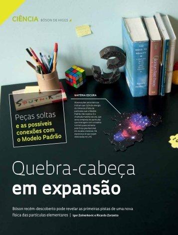 Quebra-cabeça em expansão - Revista Pesquisa FAPESP