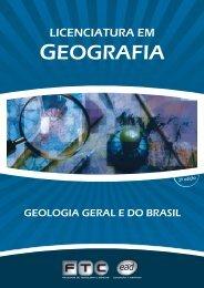 capas geologia geral e do brasil - ftc ead
