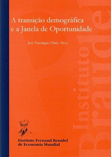 A transição demográfica e a janela de oportunidade - Instituto ...
