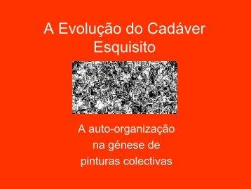 A Evolução do Cadáver Esquisito - Wiki