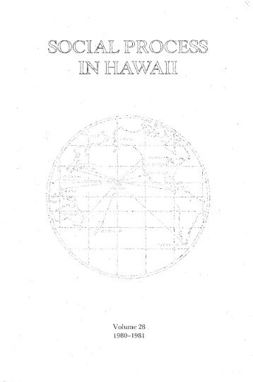 Volume 28. - ScholarSpace - University of Hawaii