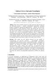 Instruções aos Autores de Contribuições para o SIBGRAPI - Embrapa