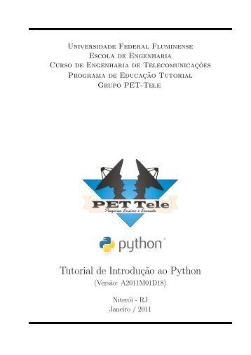 Tutorial de Introduç˜ao ao Python - UFF