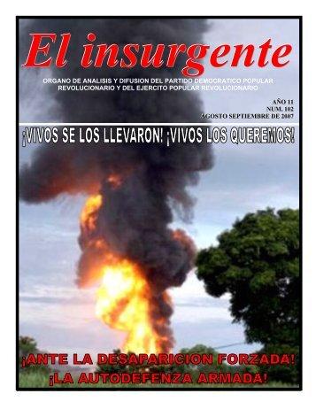 El insurgente - Centro de Documentación de los Movimientos ...