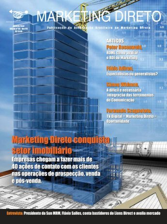 Revista Marketing Direto - Número 66, Ano 07, Agosto - Abemd