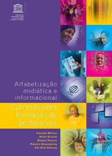Currículo para formação de professores