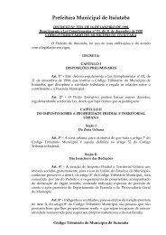 decreto 3333/91 : regulamenta o código tributário municipal
