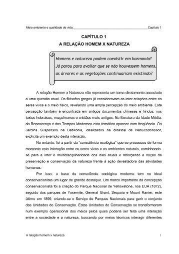 abordagem histórica da educação ambiental - Faculdades ...