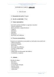 ROTEIRO DA TAREFA: ORIGAMI I – Antes da aula 1- Enunciado da ...