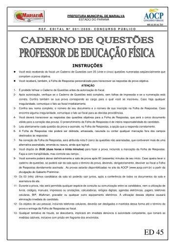 MARIALVA-PR AOCP 2009.pdf - APEF