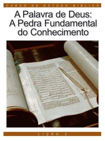 A Palavra de Deus - A Boa Nova - Uma revista de entendimento