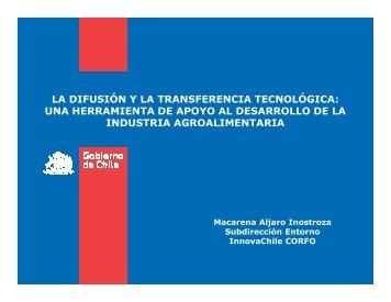 LA DIFUSIÌN Y LA TRANSFERENCIA TECNOLÌGICA: UNA ...