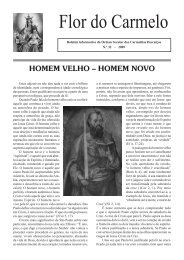 Flor do Carmelo Nº 32 - Ordem dos Padres Carmelitas Descalços
