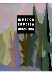 MÚSICA ERUDITA BRASILEIRA - Departamento Cultural
