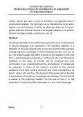 Un acercamiento psicolinguistico al fenomeno de la transferencia ... - Page 6