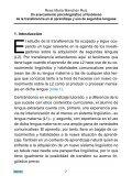 Un acercamiento psicolinguistico al fenomeno de la transferencia ... - Page 7