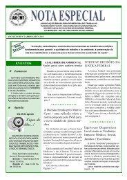 Informativo, nº 2, 2011 - Associação Brasileira de Medicina do ...