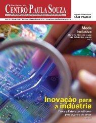 Novembro/Dezembro Edição nº 19 - Centro Paula Souza