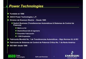 Sistemas de Transferencia para Autogeneración
