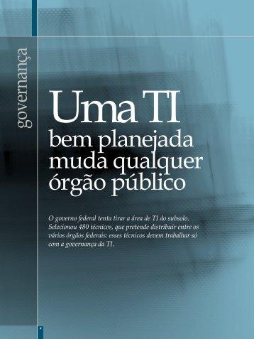 Governança - Plano Editorial