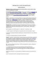 PORTARIA CAT N° 120, DE 27 DE AGOSTO DE ... - CLM Controller