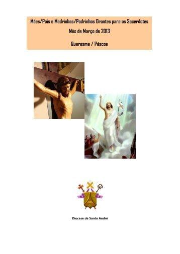 Roteiro Mães e Madrinhas – Março de 2013 - Diocese de Santo André