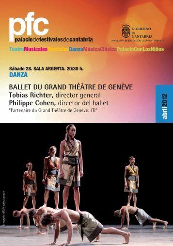 danza - Palacio Festivales Cantabria