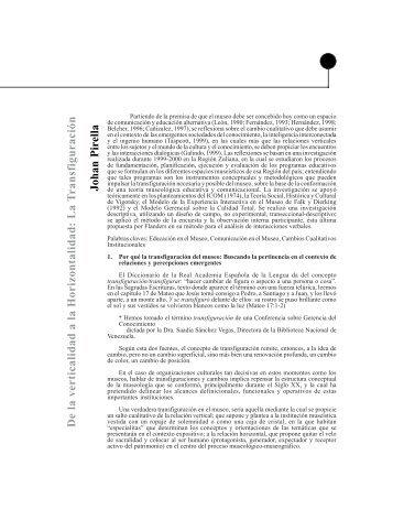 La T ransfiguración Johan Pirella - Saber ULA