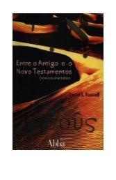 Entre o Antigo e o Novo Testamentos - David S - Webnode