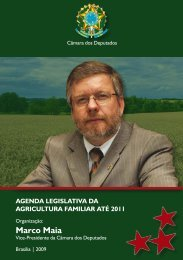 1. Agricultura e Meio Ambiente - deputado federal marco maia