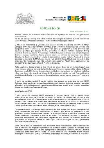 Clipping, 18 - Museu Paraense Emílio Goeldi