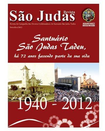 Carta do mês - Paróquia Santuário São Judas Tadeu