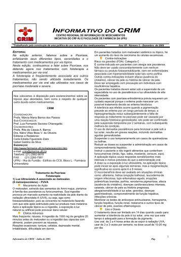 Encarte CRIM Psoríase 2 - CRF-RJ