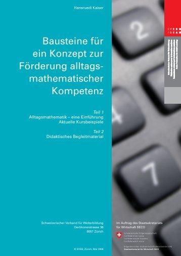 Kaiser, Hansruedi - Schweizerischer Verband für Weiterbildung SVEB