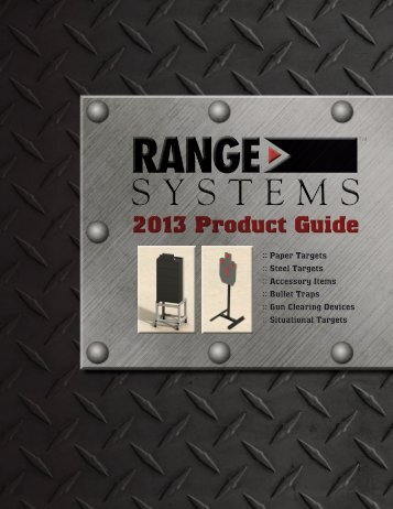 Download a copy of our catalog - Range Systems