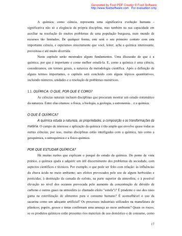 capítulo 01 - Química na Net