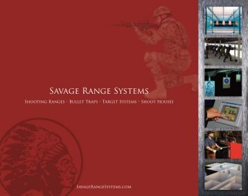 Savage Range Systems Catalog