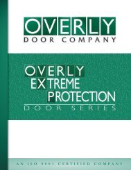 OXP Products Catalog - Overly Doors