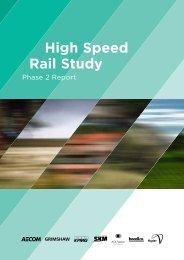 High Speed Rail Study