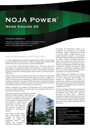 NOJA Power® - Inicio NOJA Power