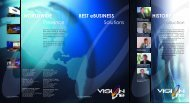 WORLDWIDE Presence BEST eBUSINESS ... - VisionOne - Worldwide
