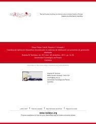 Redalyc.Coordinación óptima de dispositivos de protección en ...