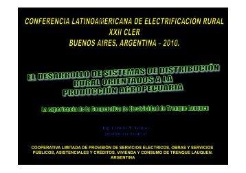 presentación - XXII CLER Argentina