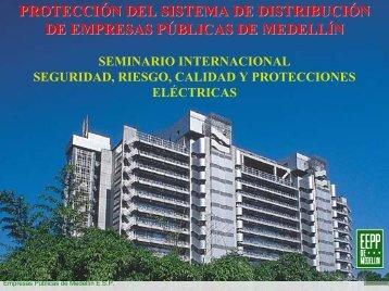 Protección del sistemas de distribución de Empresas Públicas de ...