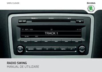 RADIO SWING MANUAL DE UTILIZARE - Media Portal - škoda auto